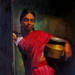 Chinni-Babu-rural-indian-women-Oil-painting-Ageliki-Papageorgiou.jpg  December 30, 2012  516 × 720